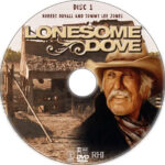 Lonesome Dove (1989) R1 Custom DVD Label