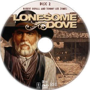 lonesome dove dvd label