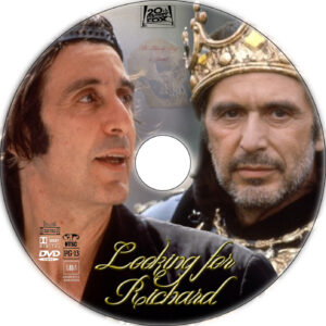 looking for richard dvd label