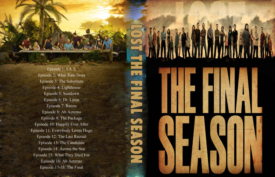 Lost: Season 6 - The Final Season (2010) | TV Series | DVD Cover, CD