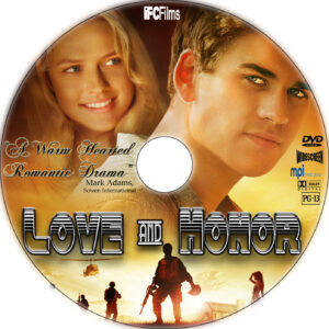 love and honor cd cover