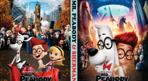 mr peabody & sherman dvd cover
