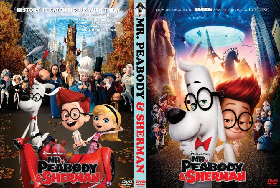mr peabody & sherman dvd cover