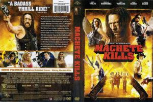 machete kills dvd cover