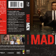 Mad Men Season 1-2-3-4 Front Blu-Ray Covers
