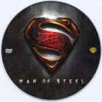 Man of Steel (2013) Custom DVD Label