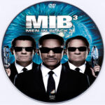 Men In Black 3 (2012) R0 Custom DVD Label