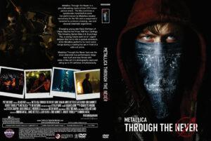 Metallica Through the Never dvd cover