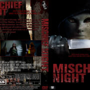 Mischief Night (2013) R0 CUSTOM DVD Cover & CD Cover