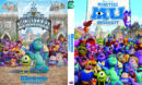 Monster University (2013) R0 Custom Cover