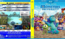 Monster University (2013) R1 Custom Blu-Ray DVD Cover