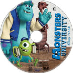Monsters University (2013) R1 Custom CD Cover