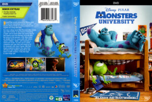 Monsters University front dvd cover