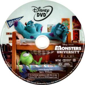 Monsters University cd cover