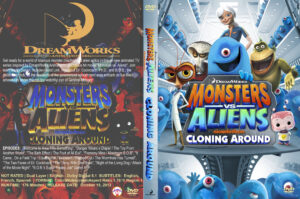 Monsters vs. Aliens Cloning Around dvd cover