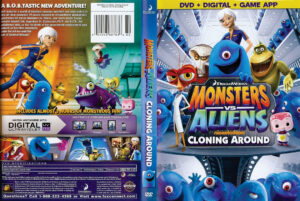 monsters vs aliens dvd cover