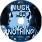 Much Ado About Nothing (2012) R1 Custom CD Cover
