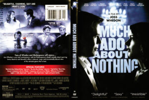 Much ado about nothing dvd cover