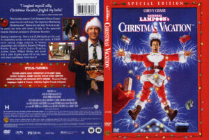 Christmas Vacation 1989 Se R1 Movie Dvd Cd Label Dvd Cover Front Cover