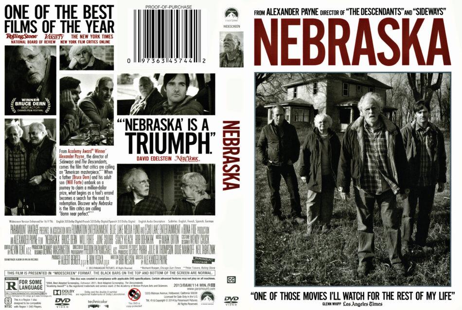 nebraska dvd cover