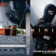 Ninja: Shadow of a Tear (2013) R1 Custom DVD Cover