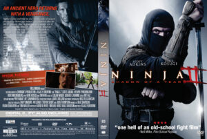 Ninja: Shadow of a Tear dvd cover
