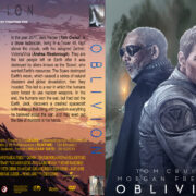 Oblivion (2013) R0 Custom DVD Cover