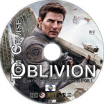 Oblivion (2013) R1 Custom CD Cover