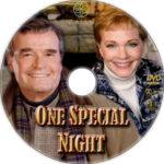 One Special Night (1999) R1 Custom DVD Label
