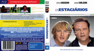 Os Estagiarios (Blu-Ray) DVD Cover