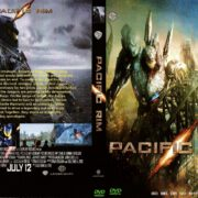 Pacific Rim (2013) R0 Custom DVD Cover