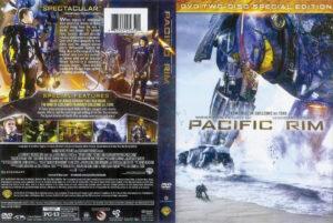 Pacific Rim DVD Cover (2013) R1 Pacific Rim 2013 Dvd Cover