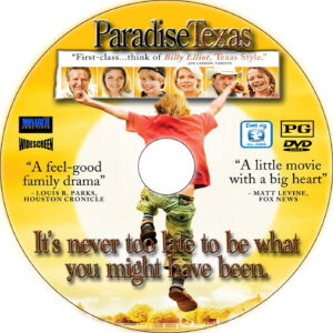 paradise texas cd cover