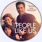 People Like Us (2012) R0 Custom DVD Label