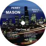 Perry Mason Complete Season 3 Custom DVD Labels