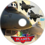 Planes (2013) Custom DVD Labels