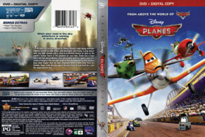Planes 2013 dvd cover