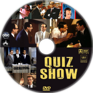 quiz show dvd label