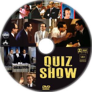 quiz show dvd label