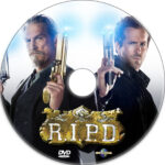 R.I.P.D. (2013) Custom DVD Labels