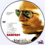 Rampart (2011) R0 Custom DVD Label