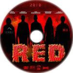 Red (2010) R1 Custom DVD Label