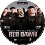 Red Dawn (2012) R0 Custom Blu-Ray/DVD Labels