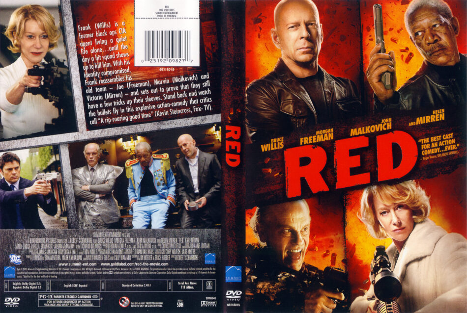 Red 2010 Ws R1 Movie Dvd