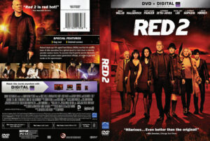 red 2 dvd cover 2013