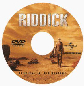 Riddick (2013) R0 custom dvd