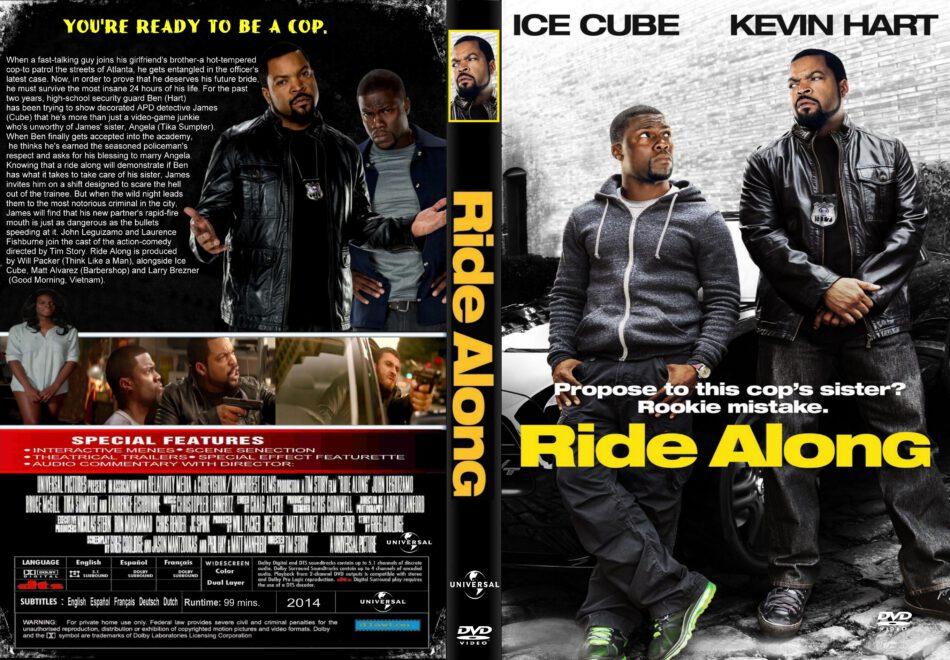 Ride Along Dvd Cover 2014 R2 Custom Art