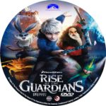 Rise of the Guardians (2012) R0 Custom dvd/blu-ray labels