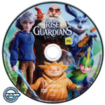Rise of the Guardians (2012) R4 DVD Label