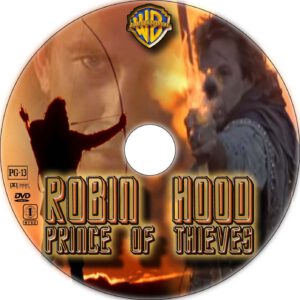 Robin Hood: Prince of Thieves dvd cover